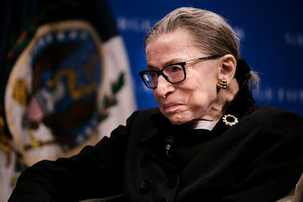 Ruth Bader Ginsburg becomes first woman to lie in US capitol