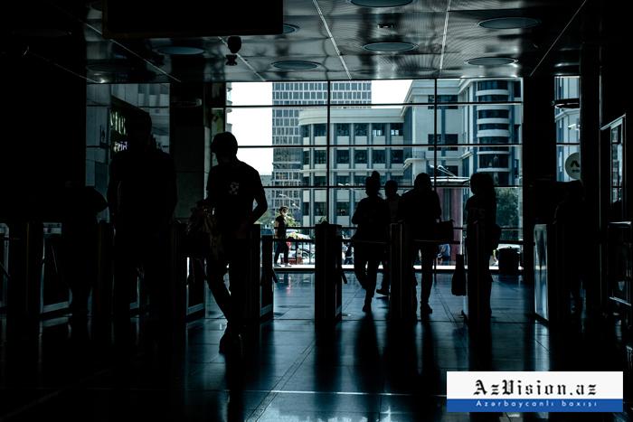 Bakı metrosu 72 gündən sonra -  FOTOREPORTAJ