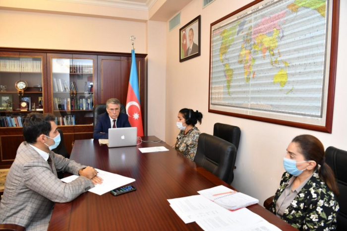 Ziyafat Asgarov attends online meeting ofNATO PA's Defense and Security Committee