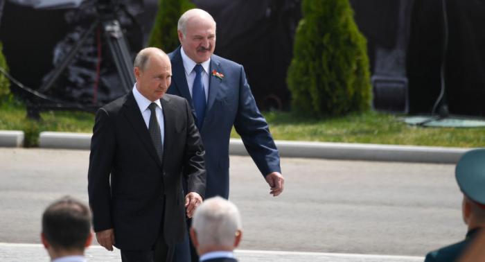 Putin və Lukaşenko   -