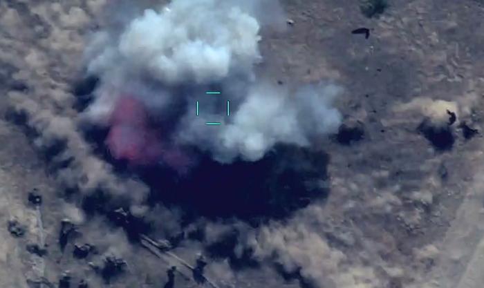 Feindliche Reservekräfte zerstört - VIDEO