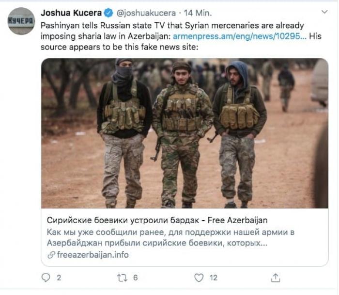 Auch Ausländische Experten enthüllen die Lügen des armenischen Premierministers Paschinjan