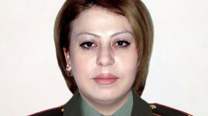 Armenian female sergeant killed during counter-offensive attack
