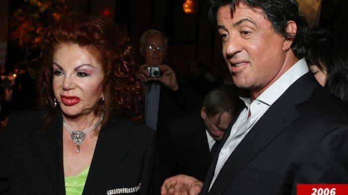 Silvestr Stallonenin anası vəfat edib