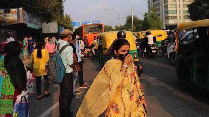 Hindistanda virusa rekord yoluxma qeydə alındı