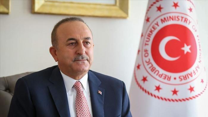 """Cavusoglu:   """"La seule solution est le retrait de l'Arménie des territoires azerbaïdjanais qu"""