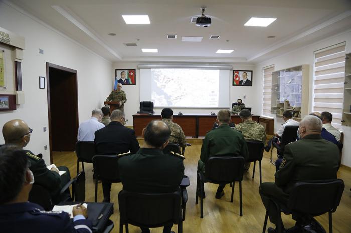 Beynəlxalq təşkilatlar raket hücumları barədə məlumatlandırıldı