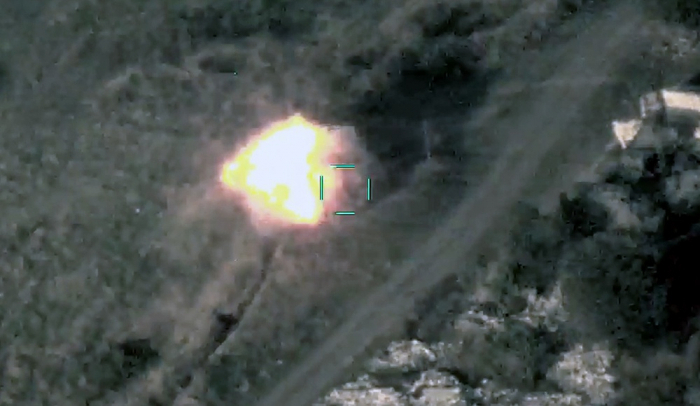 Azerbaijani Army destroys more Armenian manpower and military equipments - VIDEO
