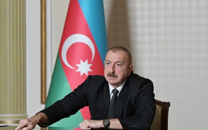 """""""Erməni əsgəri torpaqlarımızdan çıxarsa, münaqişəyə son qoyulacaq"""" -    Prezident"""
