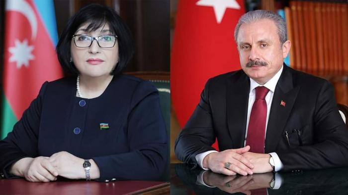 Sahibə Qafarova Şentopu təbrik etdi