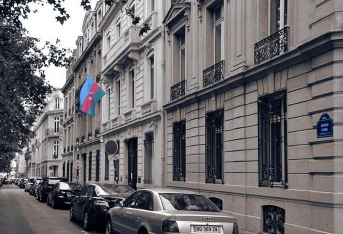 Fransadakı səfirliyimiz erməni təxribatları barədə açıqlama yaydı