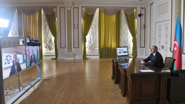 President Aliyev gave interview to