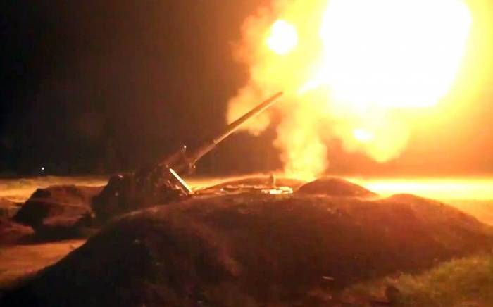 Azerbaijani army destroyed command observation post of Armenian side
