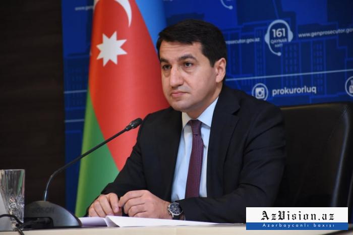 """""""Ermənilər sivil davranışlardan uzaqdırlar"""" -    Prezidentin köməkçisi"""