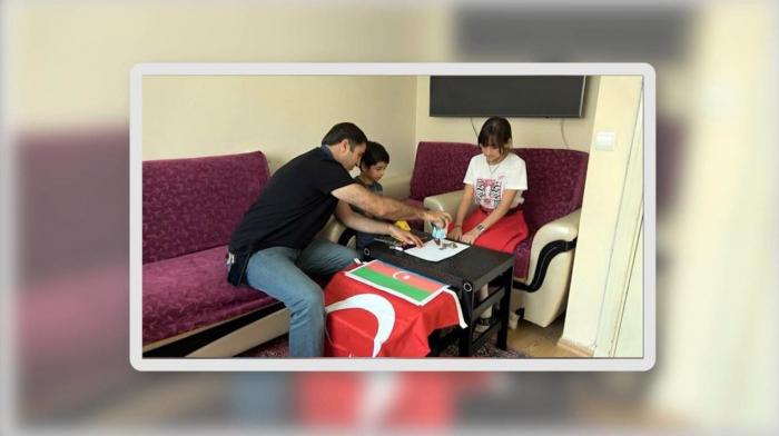 ASAN könüllülərindən İsranura hədiyyə -    VİDEO