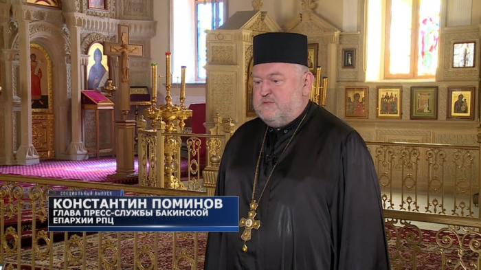 Not a single church was destroyed in Azerbaijan - Konstantin Pominov,  VIDEO