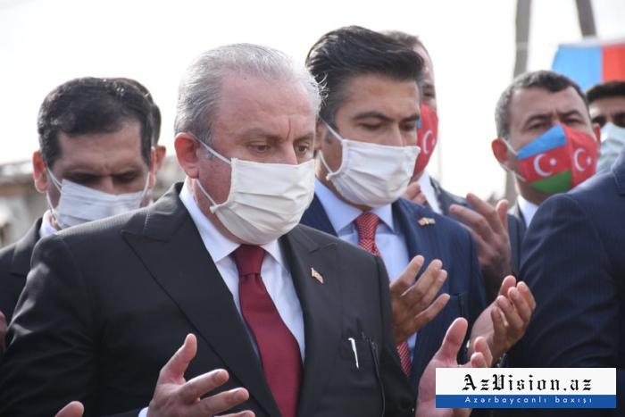 Le président de laGrande Assemblée nationale de Turquie en visite à Gandja - PHOTOS (MISE À JOUR)