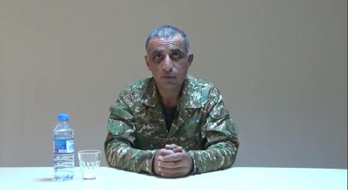 """""""Avtomatı atıb Azərbaycan Ordusuna təslim oldum""""-  Erməni mayor (VİDEO)"""