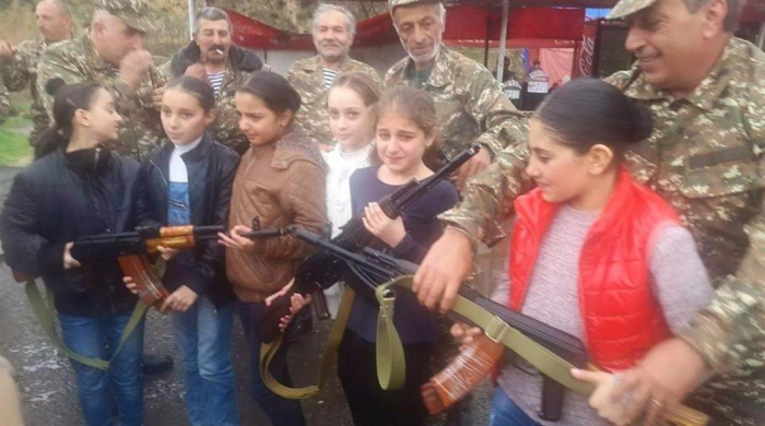 Armenian Armed forces use children to replenish their ranks -  VIDEO