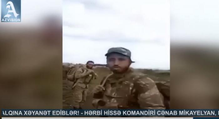 """""""Yiyəsiz qalmışıq, hamı döyüşdən qaçır""""  - Erməni hərbçilər etiraz edir  (VİDEO)"""