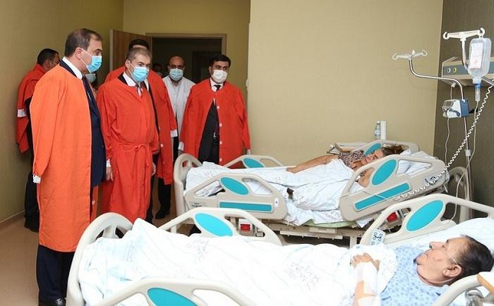 Consul General of Turkey visited injured civilians in Ganja