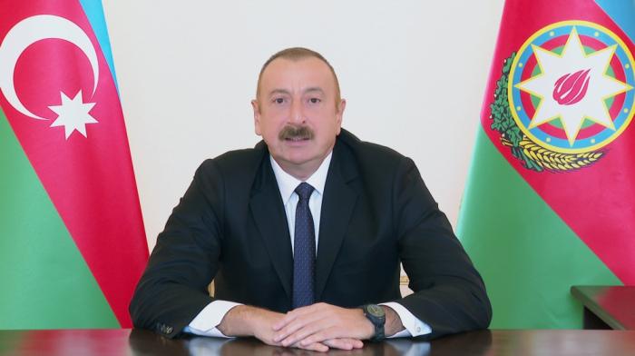 Presidente Ilham Aliyev:Todos los días llegan muy buenas noticias desde el frente