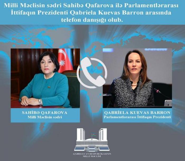 Sahibə Qafarova beynəlxalq ictimaiyyətə çağırış etdi
