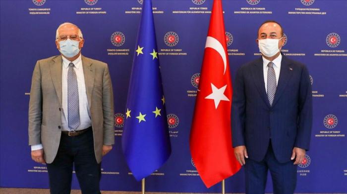 Turkey's Cavusoglu, EU's Borrell discuss situation in Nagorno-Karabakh
