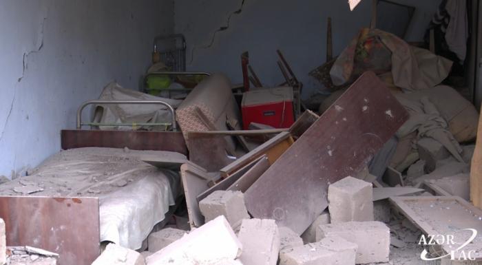 Armenian army shells IDP settlement in Azerbaijan's Aghdam - PHOTOS