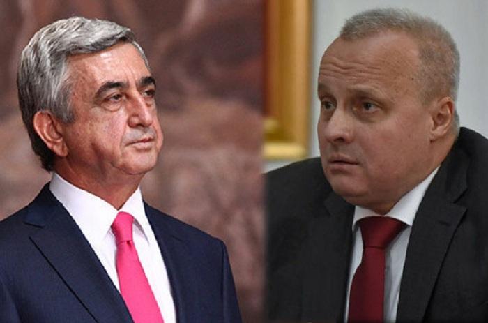 Sargsyan meets with Russian ambassador to discuss Karabakh conflict