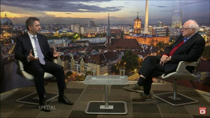 German TV broadcasted interview with Azerbaijani Ambassador on Armenian provocation