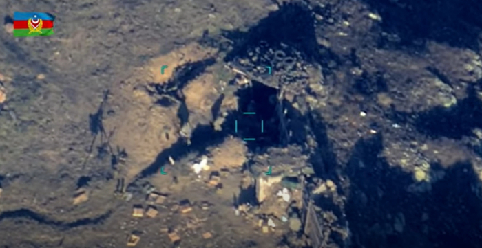 Azerbaijan releases another   video   of destroyed Armenian forces, combat equipment