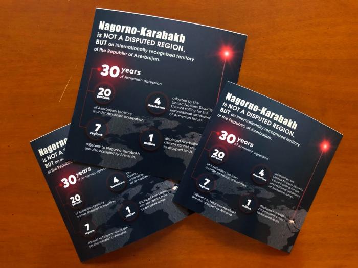 "Azerbaijani Diaspora in London launches ""Karabakh is Azerbaijan"" campaign"
