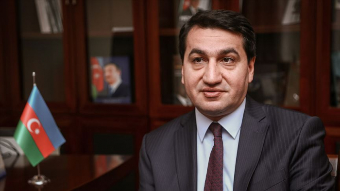 Azerbaijani presidential aide gives interview to Russia Today Arabic -  VIDEO