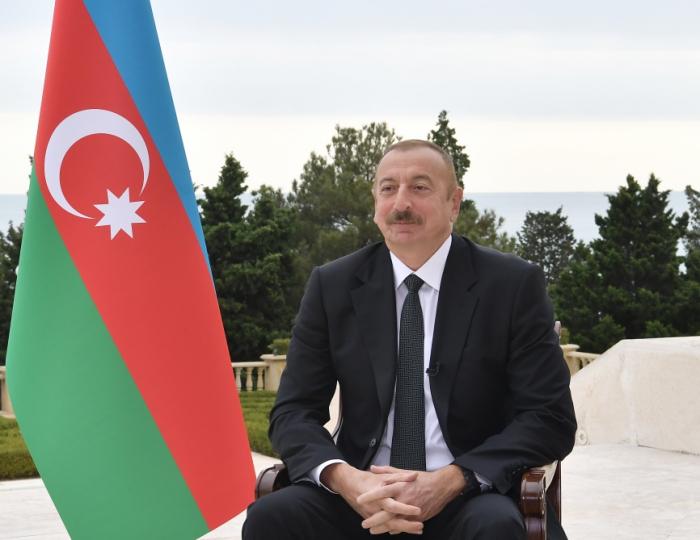 Azerbaijani President: They should make new statements that Karabakh is not Armenia