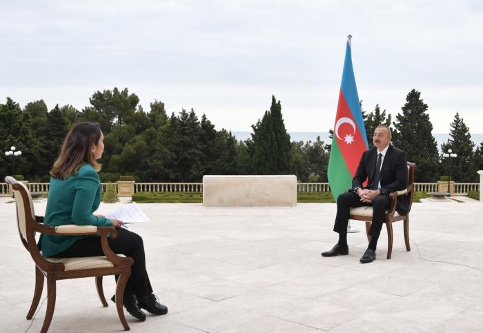 Azerbaijani president says mediator has to be 'neutral'