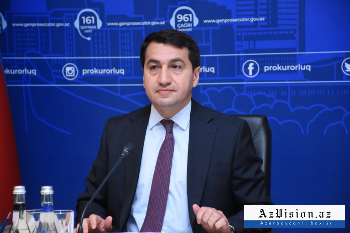 Hikmet Hajiyev: Negotiation process always disrupted by Armenia
