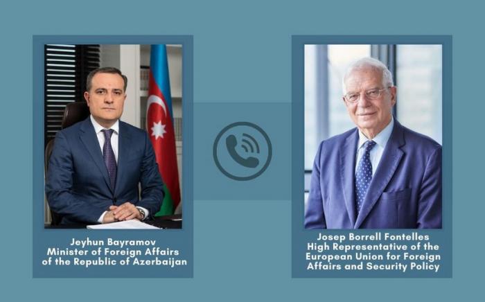 Azerbaijani FM informedEU High Representative on Armenian provocation