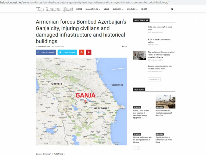 British media higlighted Armenia
