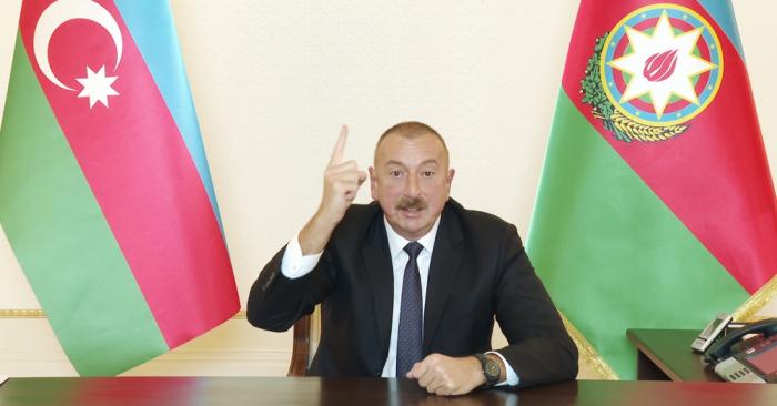 President Aliyev: Azerbaijani soldiers are saviors