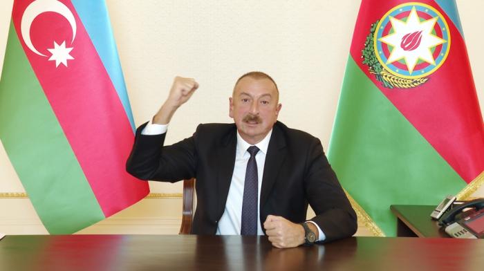 President Aliyev: Azerbaijani soldiers drive them away like dogs
