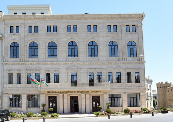 Constitutional Court of Azerbaijan issues appeal to all Constitutional Courts of world