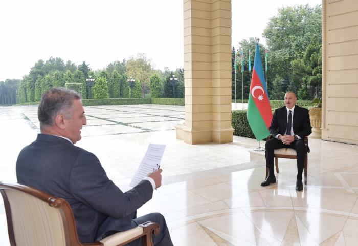 """Ilham Aliyev:   """"Turquía debe estarabsolutamente en el próximo proceso de paz"""""""