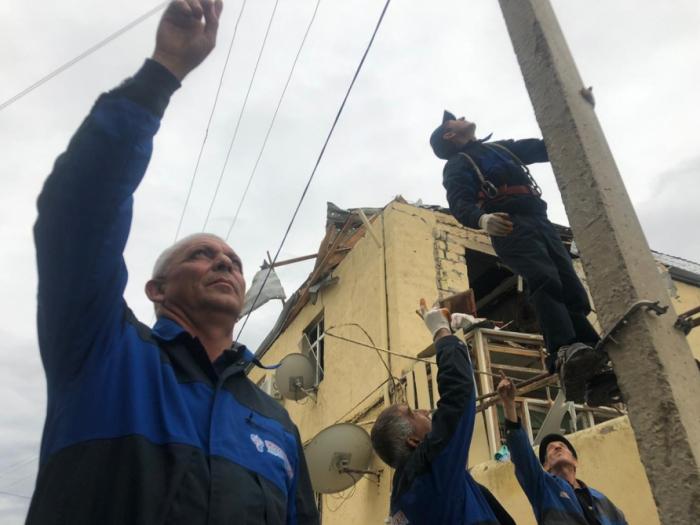 Ermənistanın elektrik şəbəkəsinə vurduğu ziyan açıqlandı