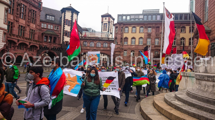 Rally in support of Azerbaijan held in Germany -   PHOTO