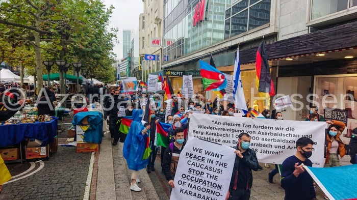 Rally In Support Of Azerbaijan Held In Germany Photo