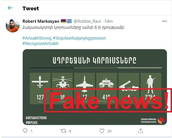 Armenia keeps spreading fake news –   PHOTOS