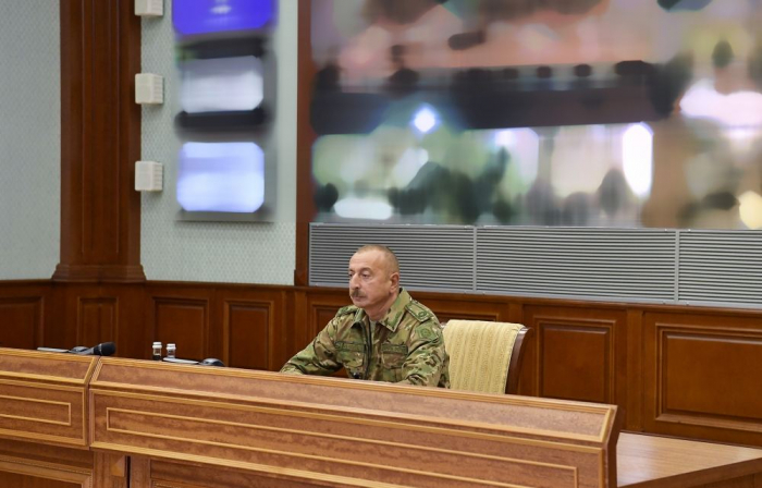Operational meeting held under the leadership Commander-in-Chief Ilham Aliyev -  PHOTOS