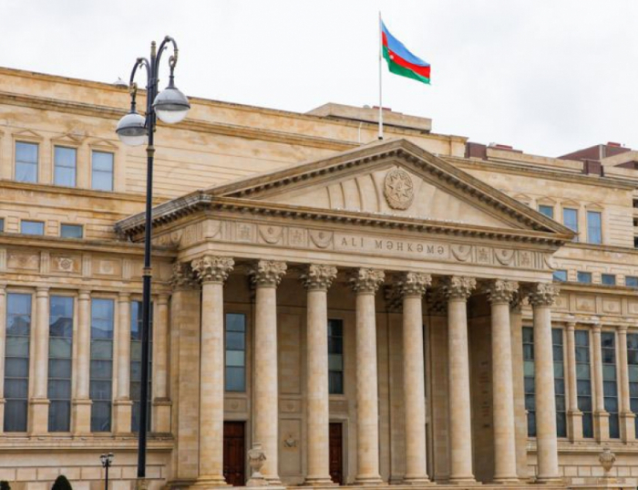 Azerbaijan sends statement to supreme courts of world countries on Armenian military aggression