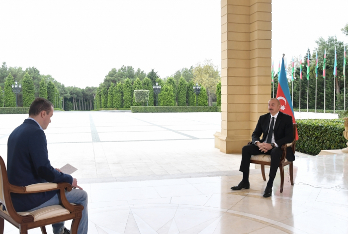 """""""Calls made by OSCE co-chair countries are ineffective"""" - Ilham Aliyev"""